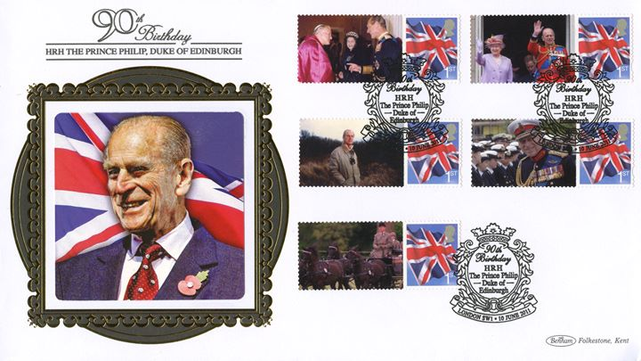Prince Philip [Commemorative Sheet], Rememberance Sunday