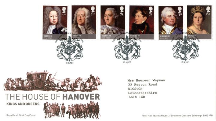 The Hanoverians, Royal Procession
