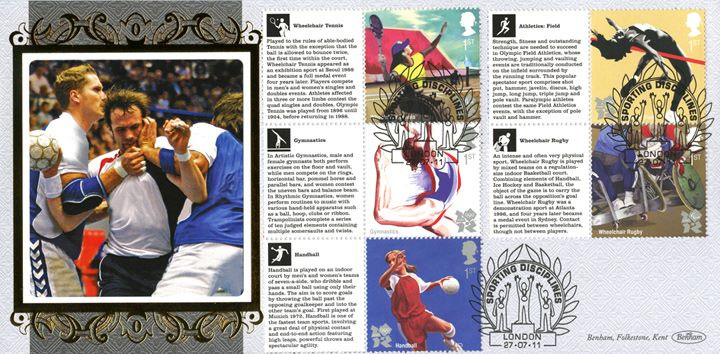 Olympic Games [Commemorative Sheet], Handball