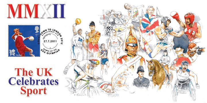 Olympic Games: Series No.3, The UK Celebrates Sport