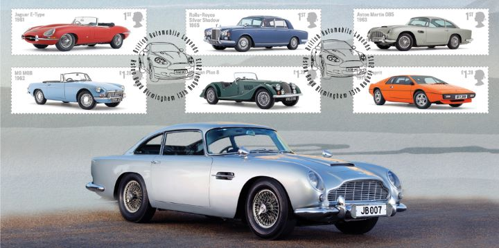 British Auto Legends, James Bond Aston Martin