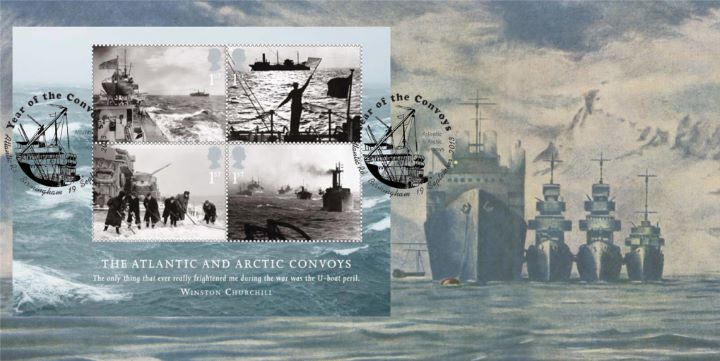 Merchant Navy: Miniature Sheet, Arctic Convoys