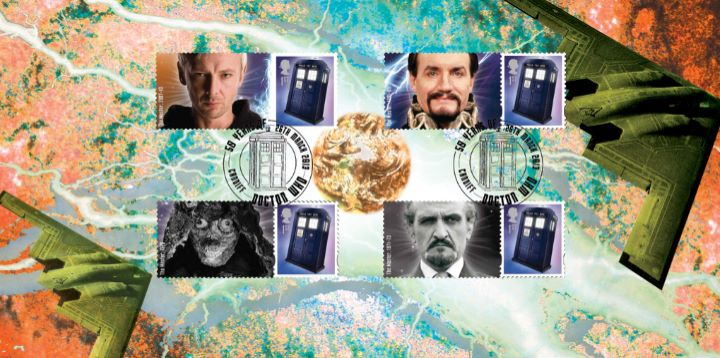 Doctor Who: Generic Sheet, The Master
