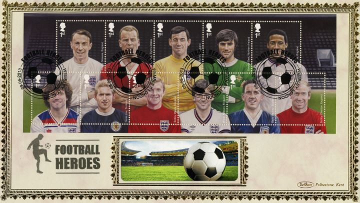 Football Heroes: Miniature Sheet, Football and Stadium