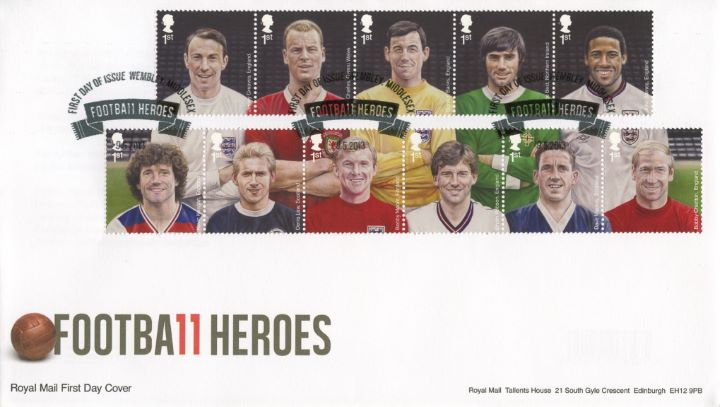 Football Heroes, Royal Mail's Dream Team