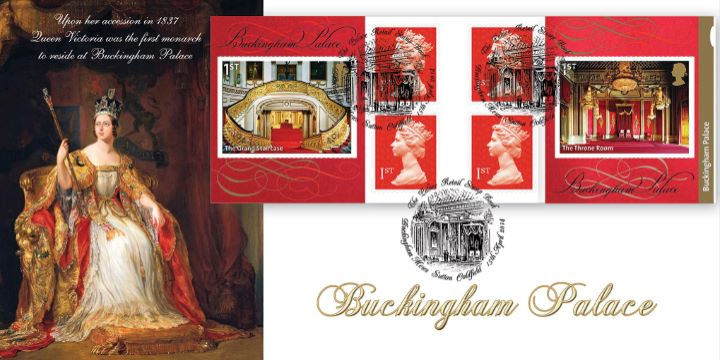 Self Adhesive: Buckingham Palace, Queen Victoria