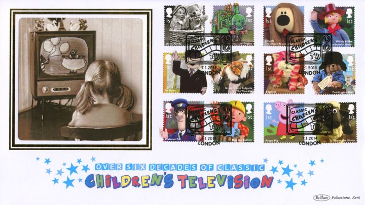 Classic Children's TV, Girl watching Television