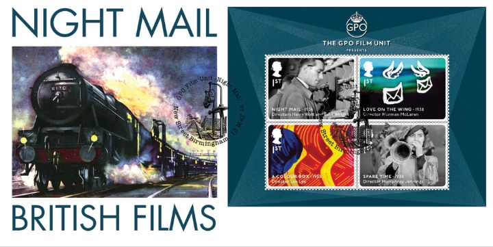 Great British Films: Miniature Sheet, Night Mail