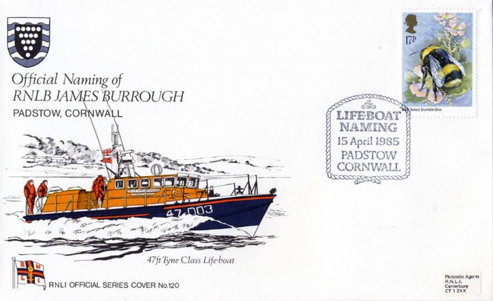 47ft Tyne Class Lifeboat, RNLB James Burrough