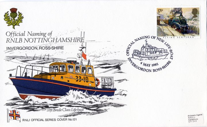 33ft Brede Class Lifeboat, RNLB Nottinghamshire