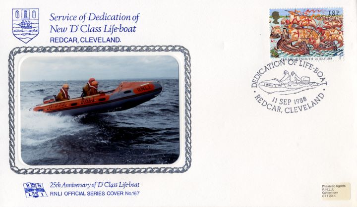 25th Anniversary of D Class Lifeboat, New D Class Lifeboat
