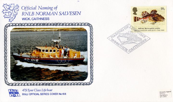 47ft Tyne Class Lifeboat, RNLB Norman Salvesen