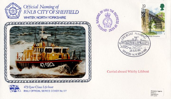 47ft Tyne Class Lifeboat, RNLB City of Sheffield