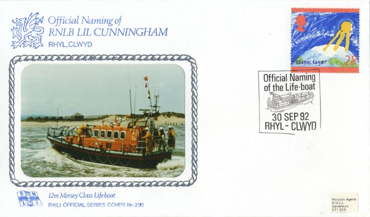 12m Mersey Class Lifeboat, RNLB Lil Cunningham