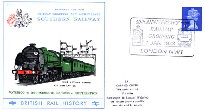 Southern Railway, 50th Anniversary of Railway Grouping
