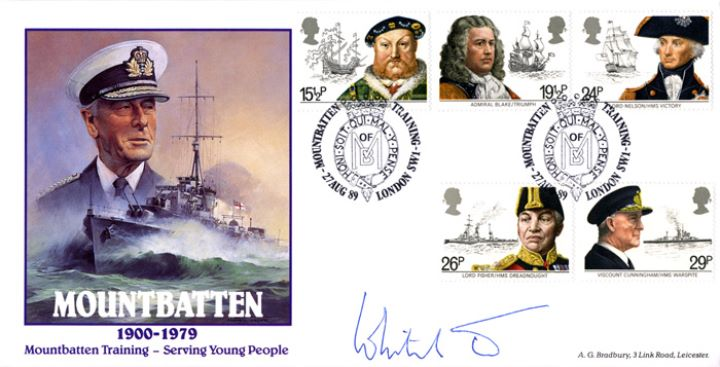 Mountbatten Training, With Maritime Stamps