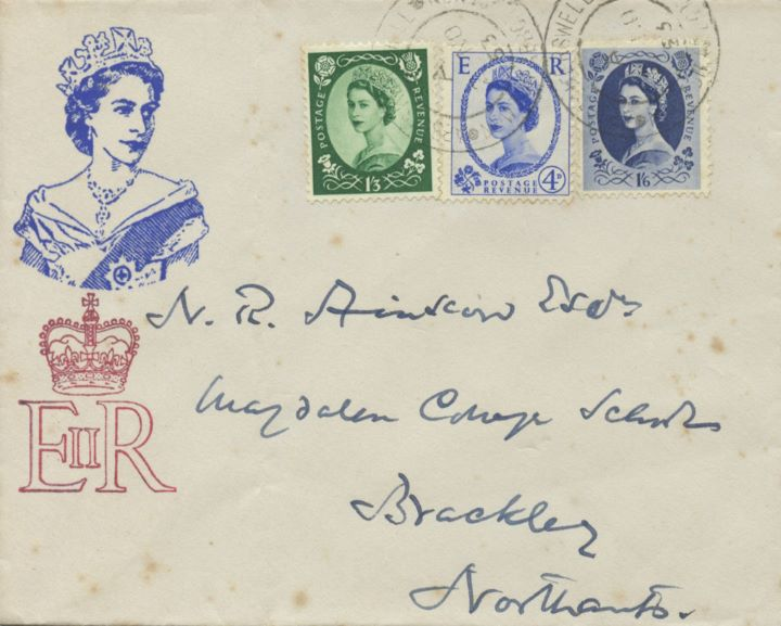 Wildings: 4d, 1s 3d, 1s 6d, New stamps for a new Queen