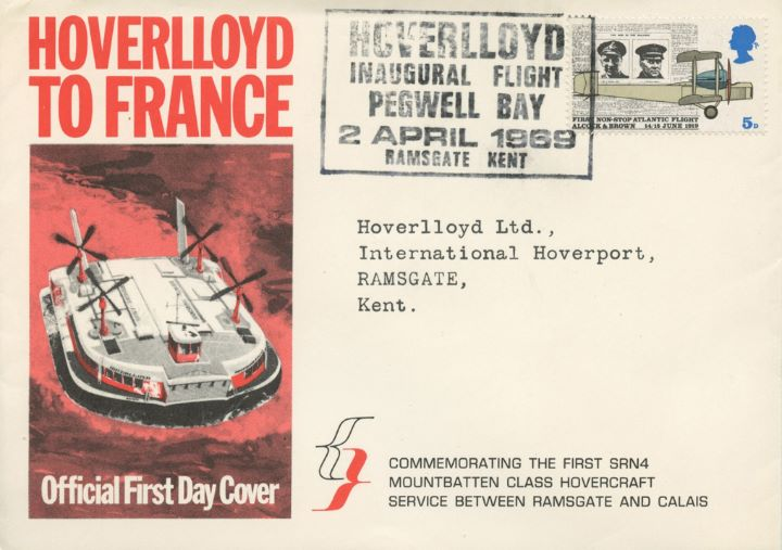 Notable Anniversaries, Hoverlloyd to France