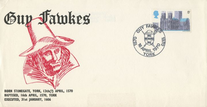 Guy Fawkes, 400th Anniversary of Birth