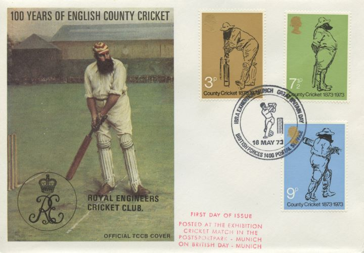 County Cricket Centenary, Royal Engineers Cricket Club