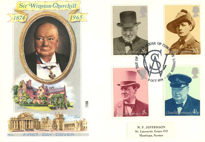 Winston Churchill, Chartwell and Blenheim