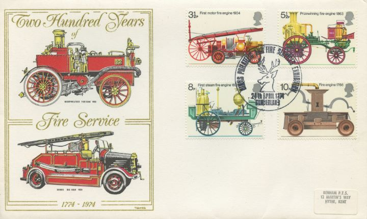 Fire Engines, Merryweather Fire King 1900