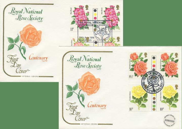 Roses 1976, Royal National Rose Society - Pair