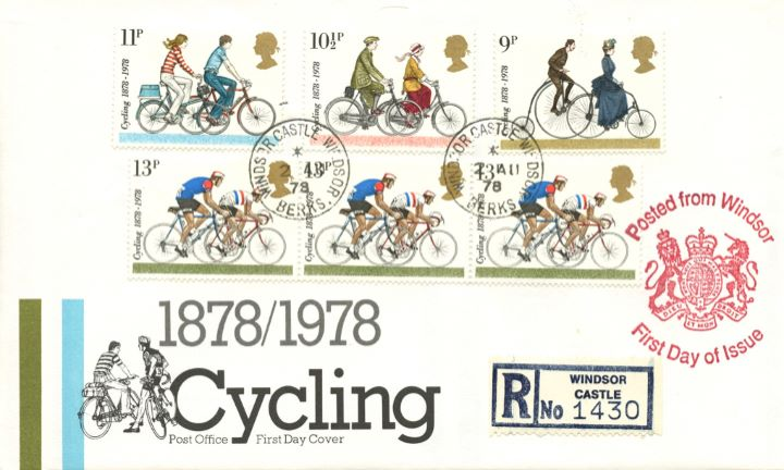 Cycling Centenaries, Posted from Windsor Castle