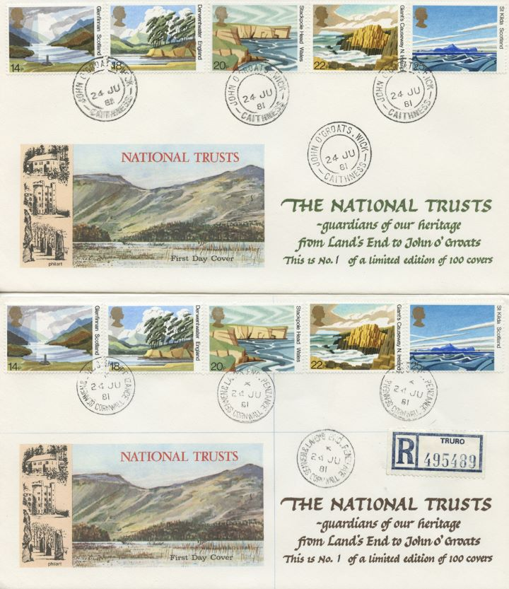 National Trusts, Land's End to John O'Groats