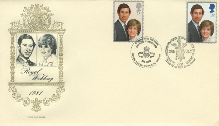 Royal Wedding 1981, Double dated cover