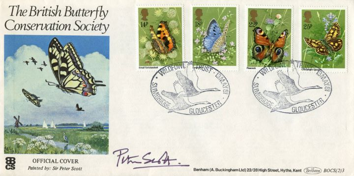 Butterflies, Signed Covers