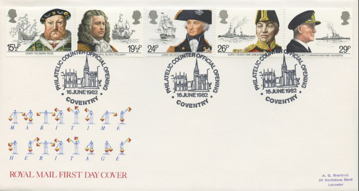 Maritime Heritage, Coventry Philatelic Counter