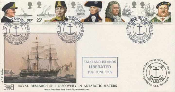 Maritime Heritage, Royal Research Ship Discovery in Antarctic Waters