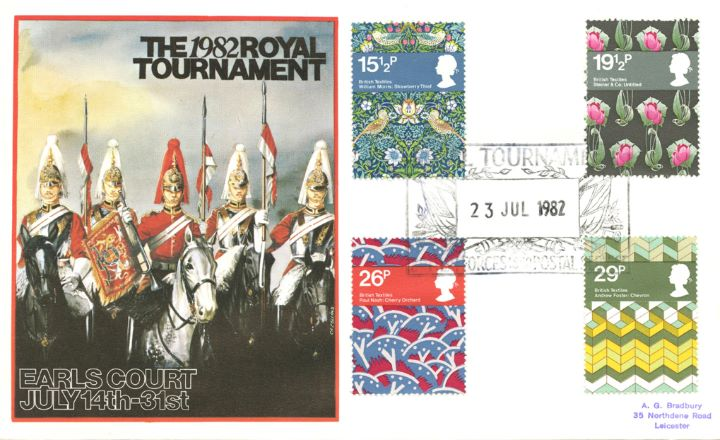 British Textiles, Royal Tournament