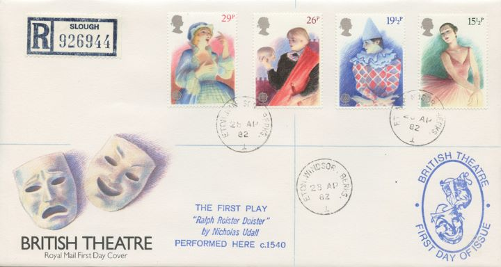 British Theatre, The first UK Play