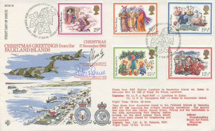 Christmas 1982, Christmas Greetings from the Falklands