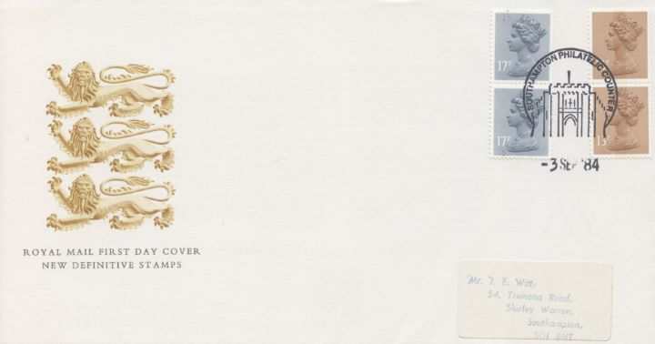 Counter: New Design: £1.54 Postal Hist. 11 (Postage Dues), Three Lions