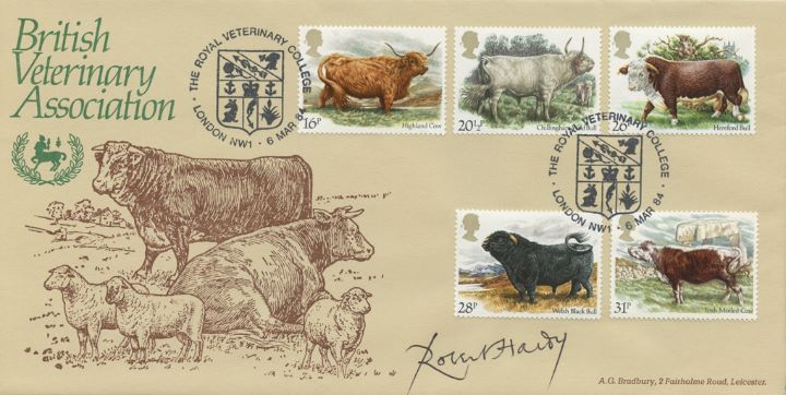 British Cattle, Royal Veterinary College