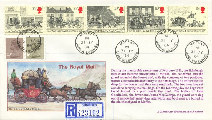 The Royal Mail, The Mail in a snowstorm