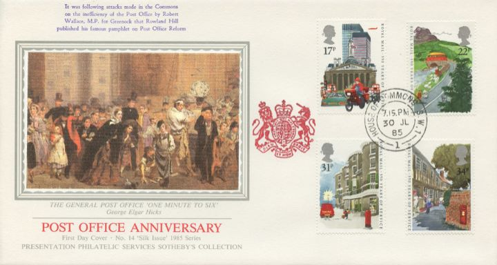 The Royal Mail, The General Post Office 'One Minute to Six'
