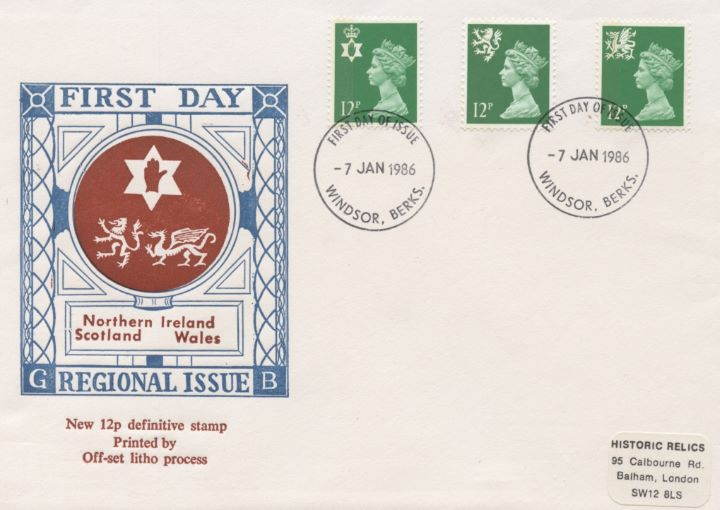 Regionals 1986 Set, Emblems