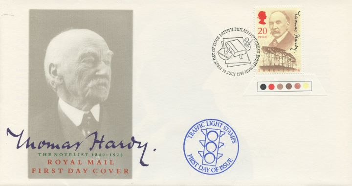 Thomas Hardy, Traffic Light stamps