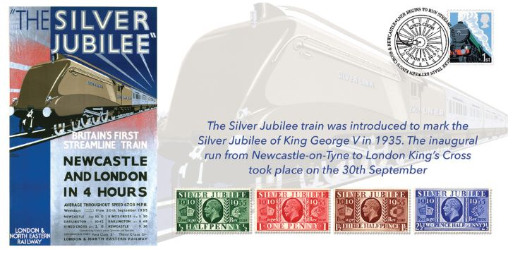 LNER Silver Jubilee, 80th Anniversary