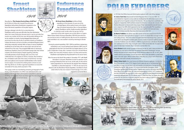 Shackleton and the Endurance Expedition, British Explorers