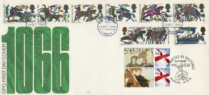 Battle of Hastings [Commemorative Sheet], 1066