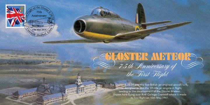 Gloster E.28/39, 75th Anniversary of the First Jet Engine