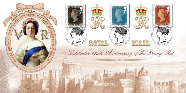 Self Adhesive: Penny Red Anniversary: 6 x 1st, 175th Anniversary of the Penny Red