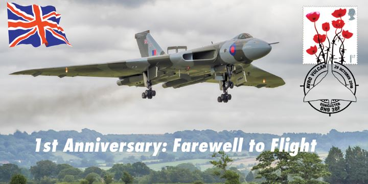 Vulcan Bomber, 1st Anniversary of Final Flight