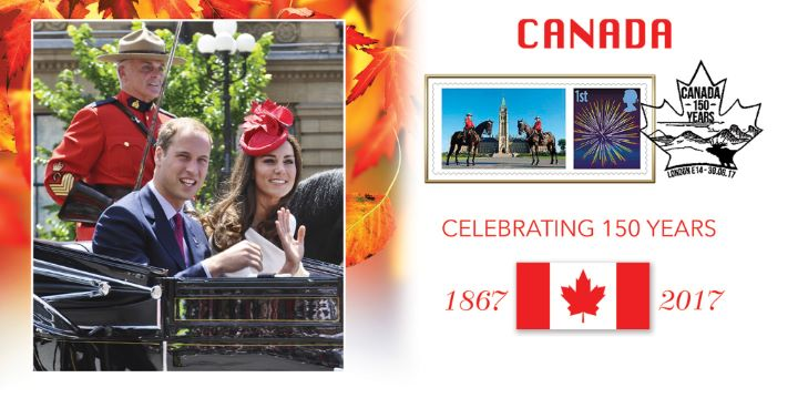 Canada [Commemorative Sheet], Royal Visit of William & Kate