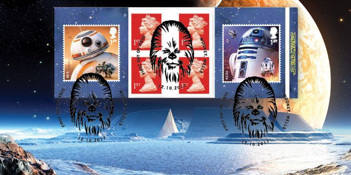 Self Adhesive: Star Wars, Ice City Frozen Planet